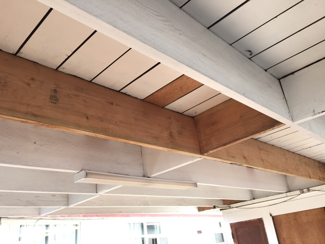 roof wood rafters repair in Honolulu