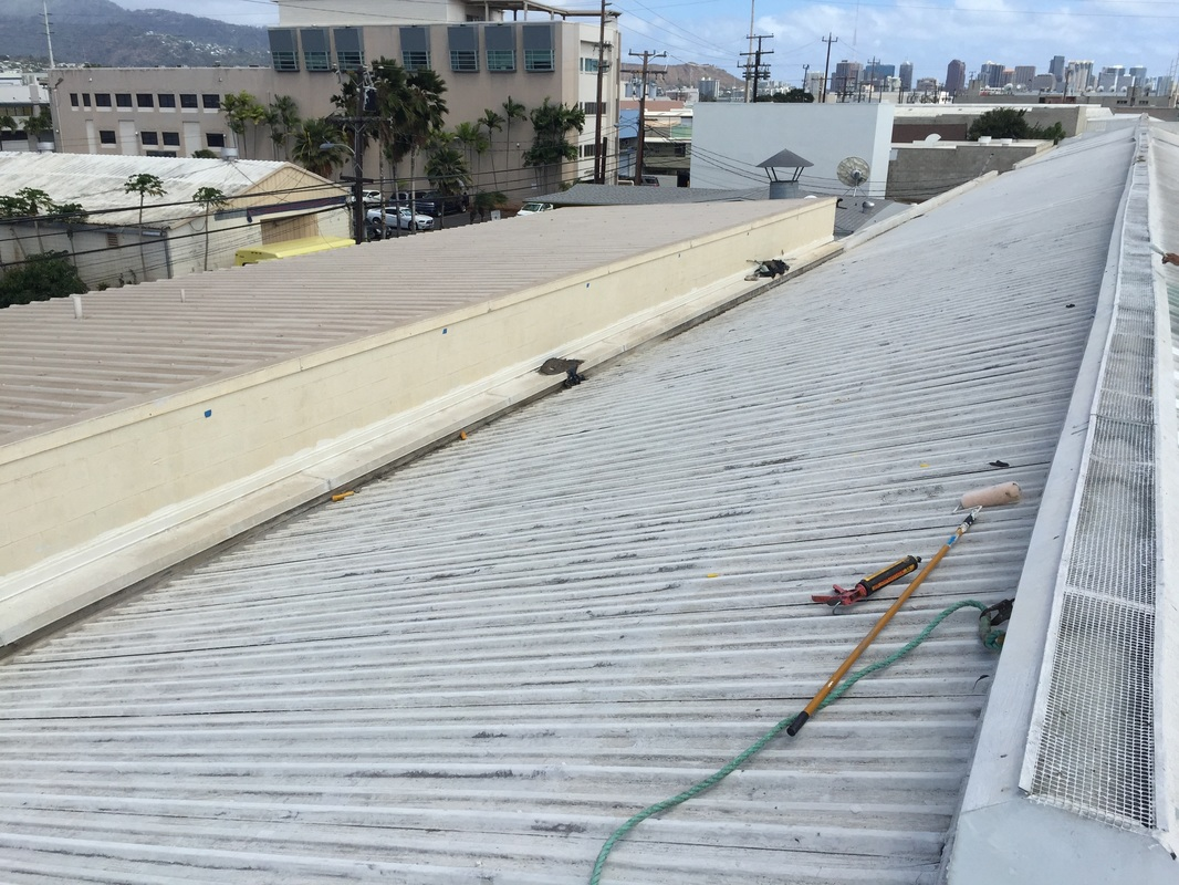 Commercial Roofing Repair in Honolulu
